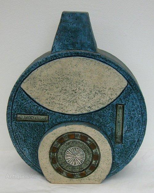 Antiques Atlas A Troika Stoneware Table Lampbase