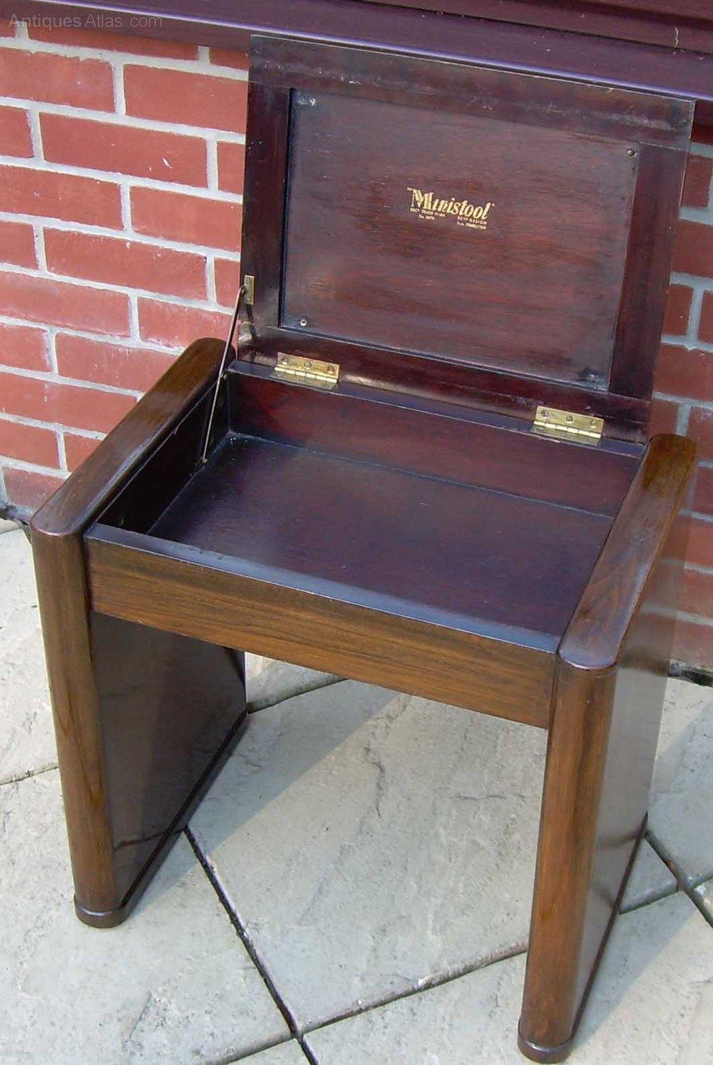 A walnut Art Deco piano stool Antique Piano Stools %%alt5%% ... & A Walnut Art Deco Piano Stool - Antiques Atlas islam-shia.org