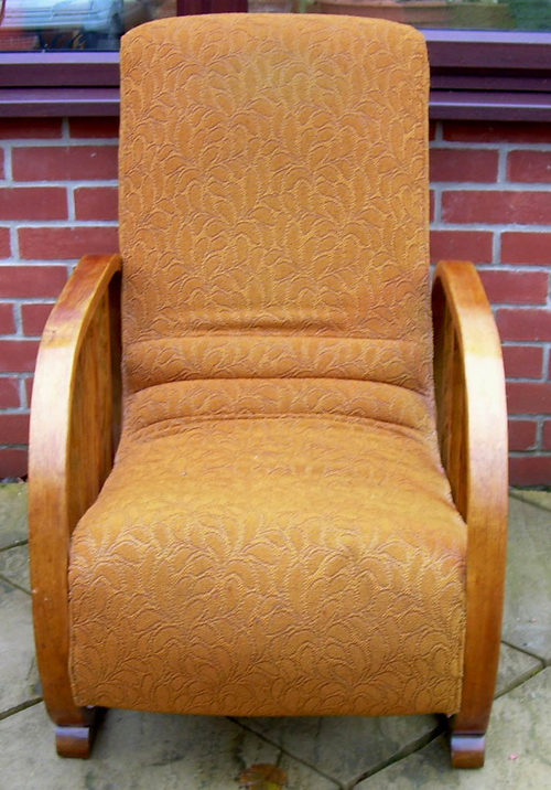 An Art Deco Armchair - Antiques Atlas