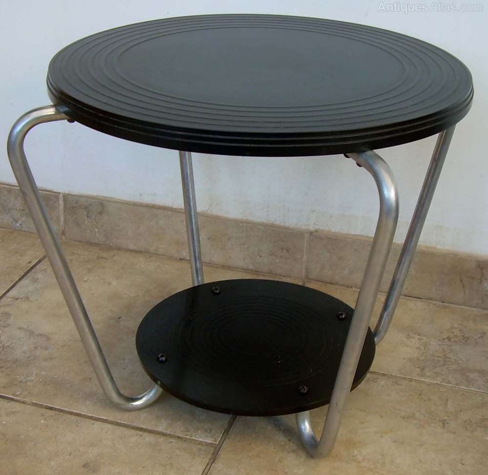 An Art Deco Bakelite Coffee Table Antiques Atlas