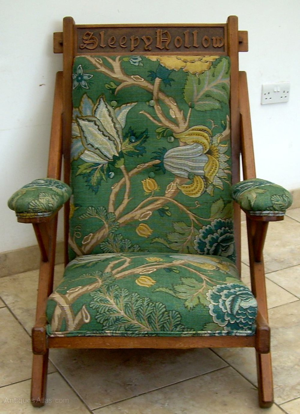 Stock Interiors Com >> An Arts & Crafts Armchair - Antiques Atlas