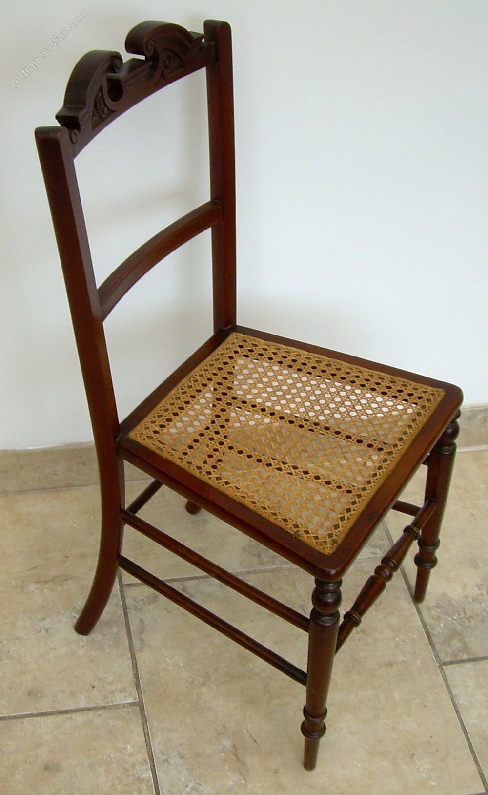 An Edwardian Bedroom Or Side Chair