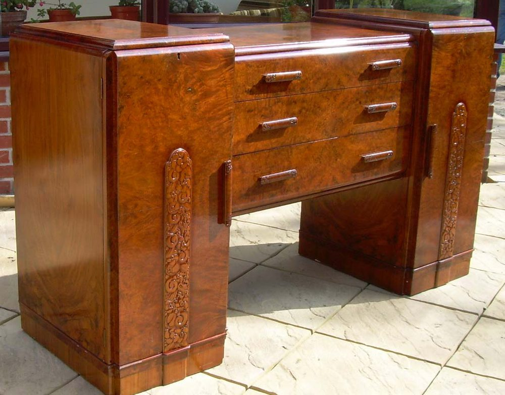art deco sideboard antiques atlas. Black Bedroom Furniture Sets. Home Design Ideas