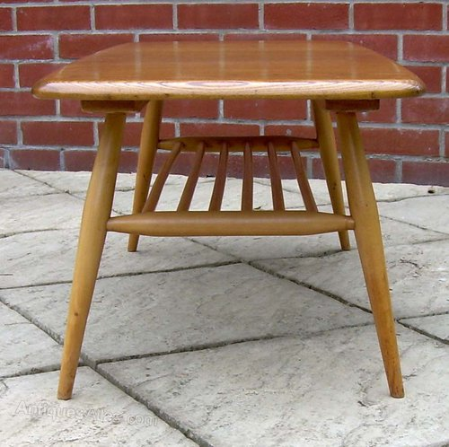 """Vintage Ercol Coffee Tables For Sale: Ercol """"Golden Dawn"""" Coffee Table"""