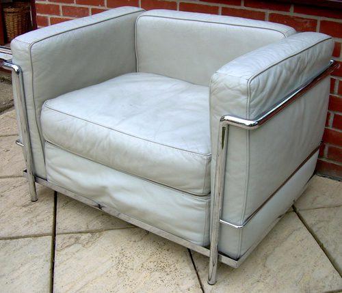 antiques atlas le corbusier lc3 armchair grand confort. Black Bedroom Furniture Sets. Home Design Ideas