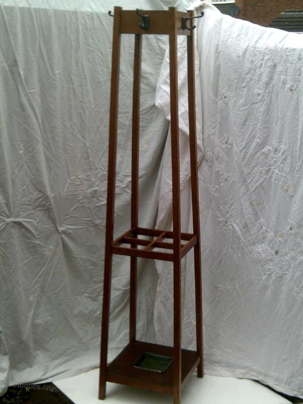 Oak Umbrella And Coat Stand Antiques Atlas