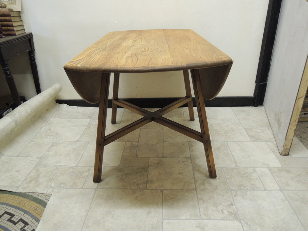 Antiques atlas ercol drop leaf dining table for Antique drop leaf dining table