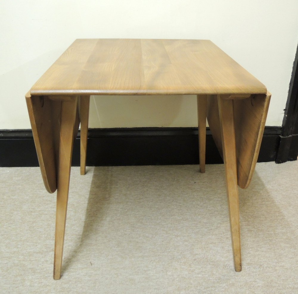 Antiques atlas retro ercol drop leaf table for Retro dining table