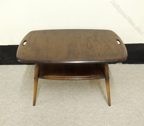 Vintage Ercol Coffee Tables For Sale: Retro Ercol Golden Dawn Coffee Table