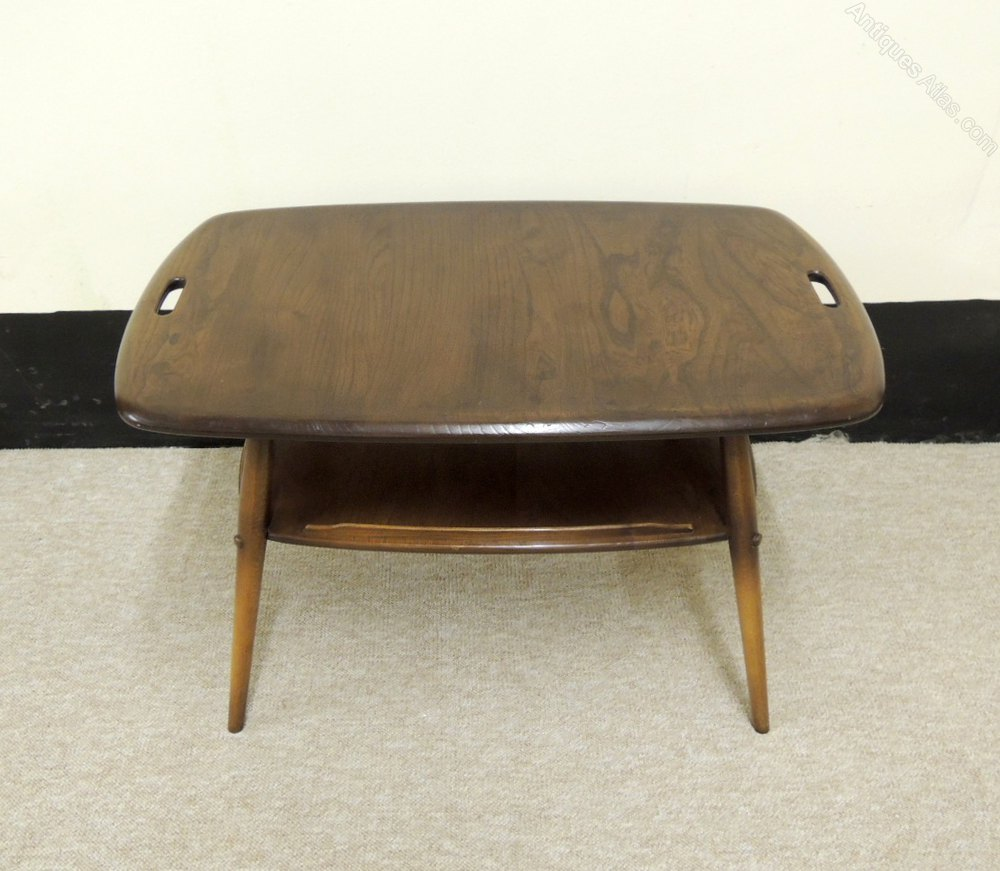 Antiques Atlas Retro Ercol Golden Dawn Coffee Table