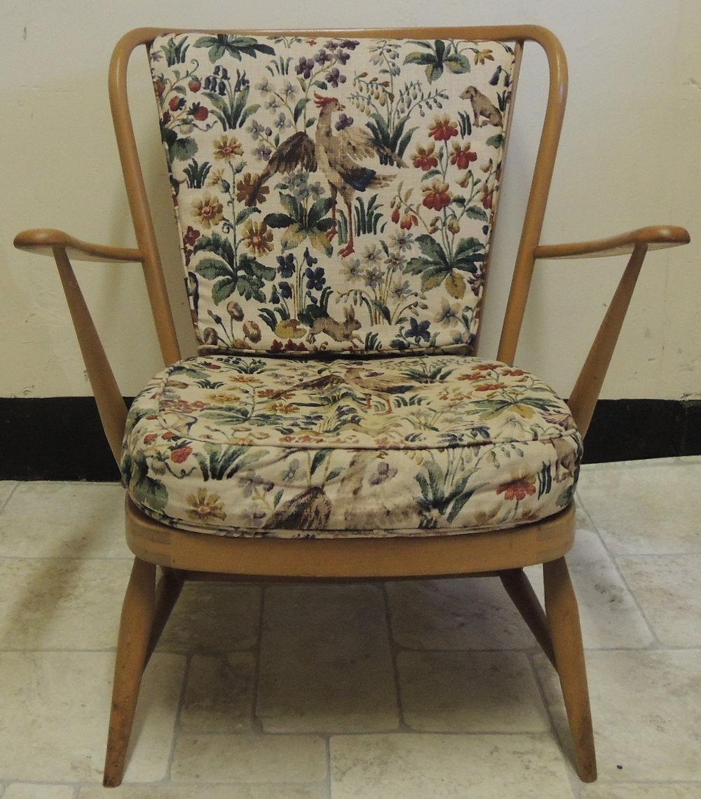 Antiques Atlas - Retro Ercol Beech Armchair