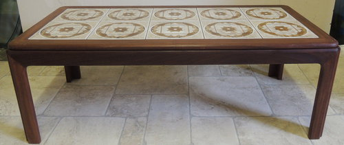 tile top coffee table plans