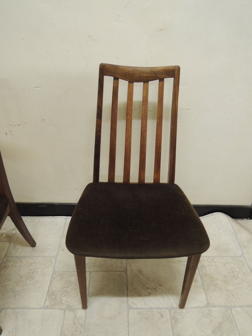 Antiques atlas set of 4 g plan dining chairs for G plan dining room chairs