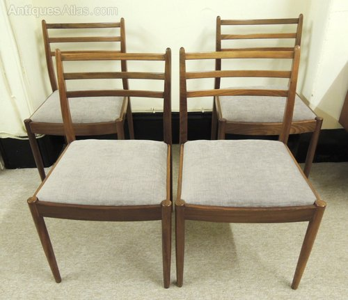 Antiques atlas set of 4 g plan dining chairs for G plan dining room furniture sale