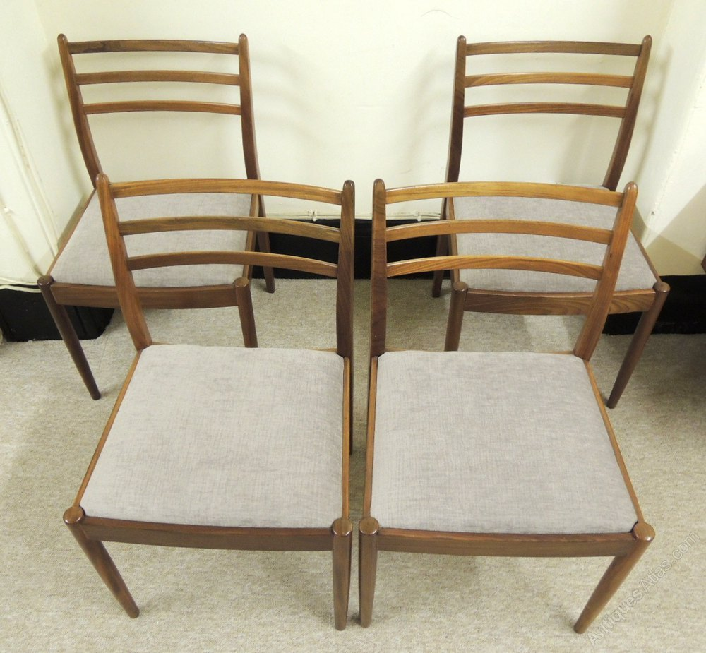 Antiques atlas set of 4 g plan dining chairs for G plan dining room furniture