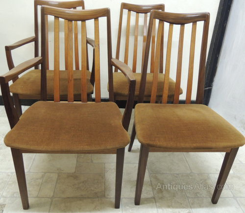 Antiques atlas set of 4 g plan dining carver chairs for G plan dining room furniture sale