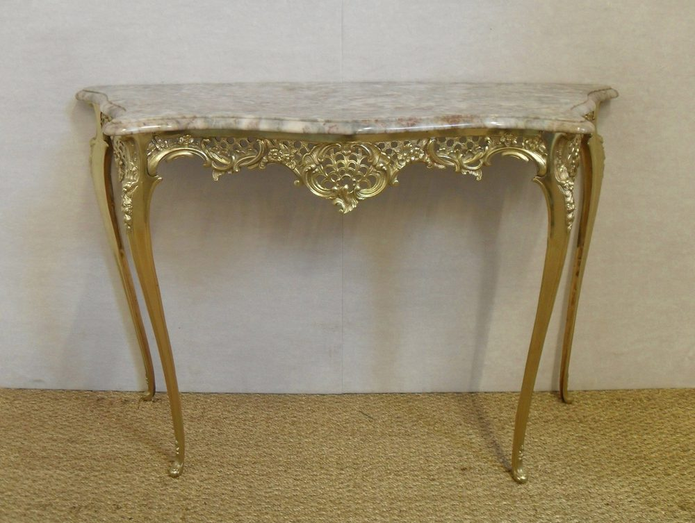French console table antiques atlas for Sofa table antique