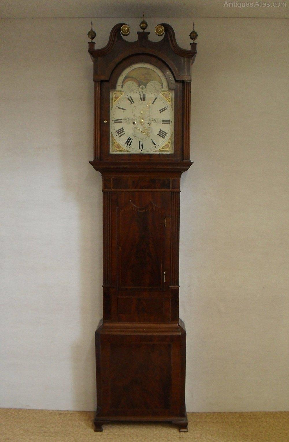 Antiques Atlas Mahogany Longcase Clock