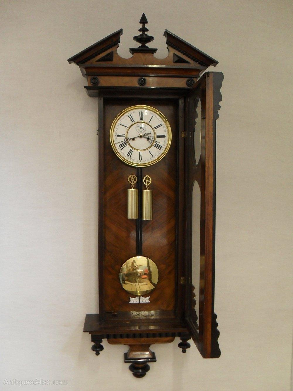 Antiques Atlas Vienna Wall Clock