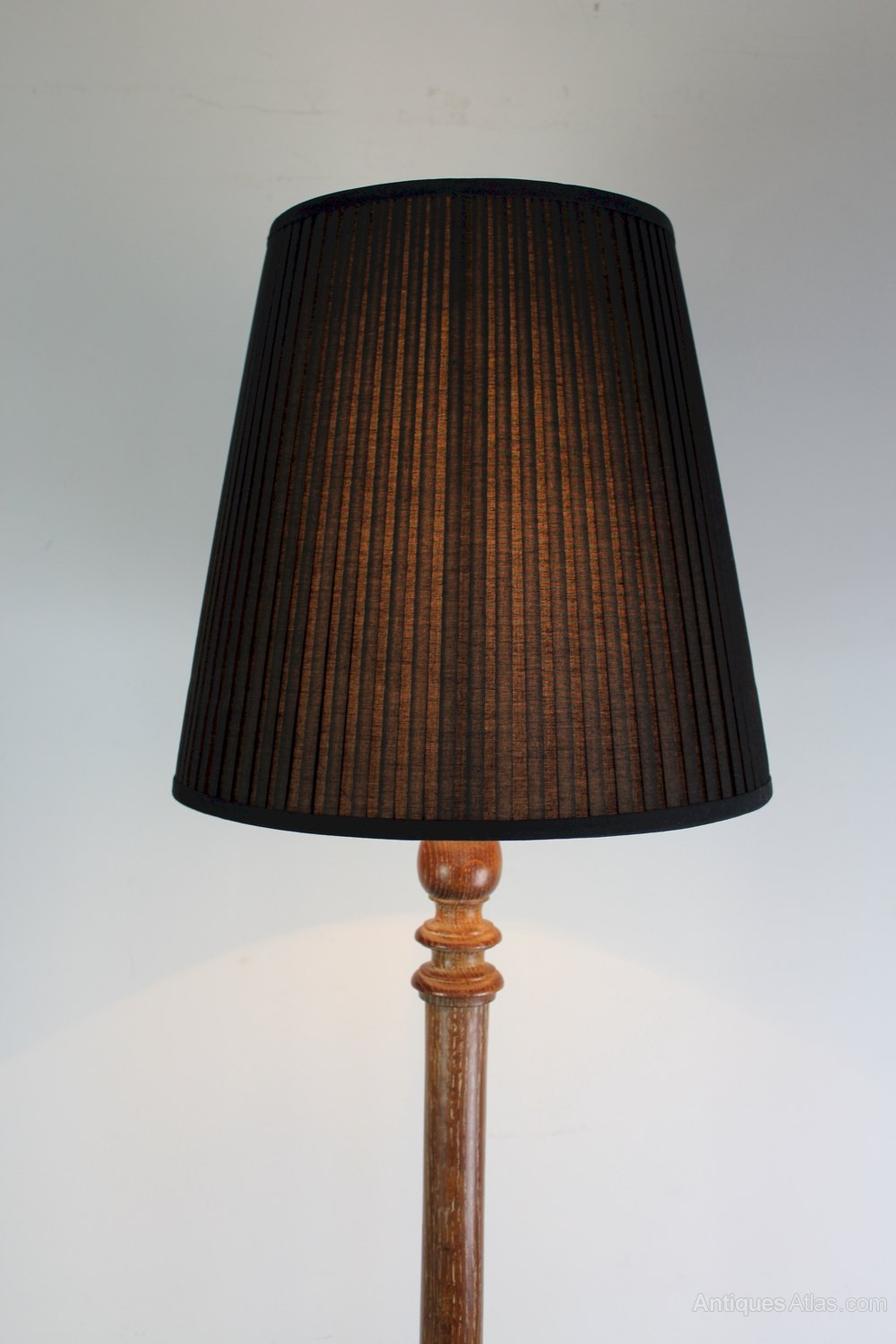 Antiques atlas 1930 39 s limed oak standard floor lamp for 1930s floor lamp