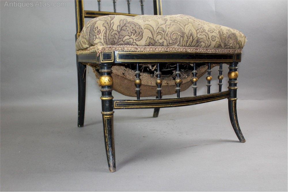 Aesthetic Movement Salon Chair Antiques Atlas
