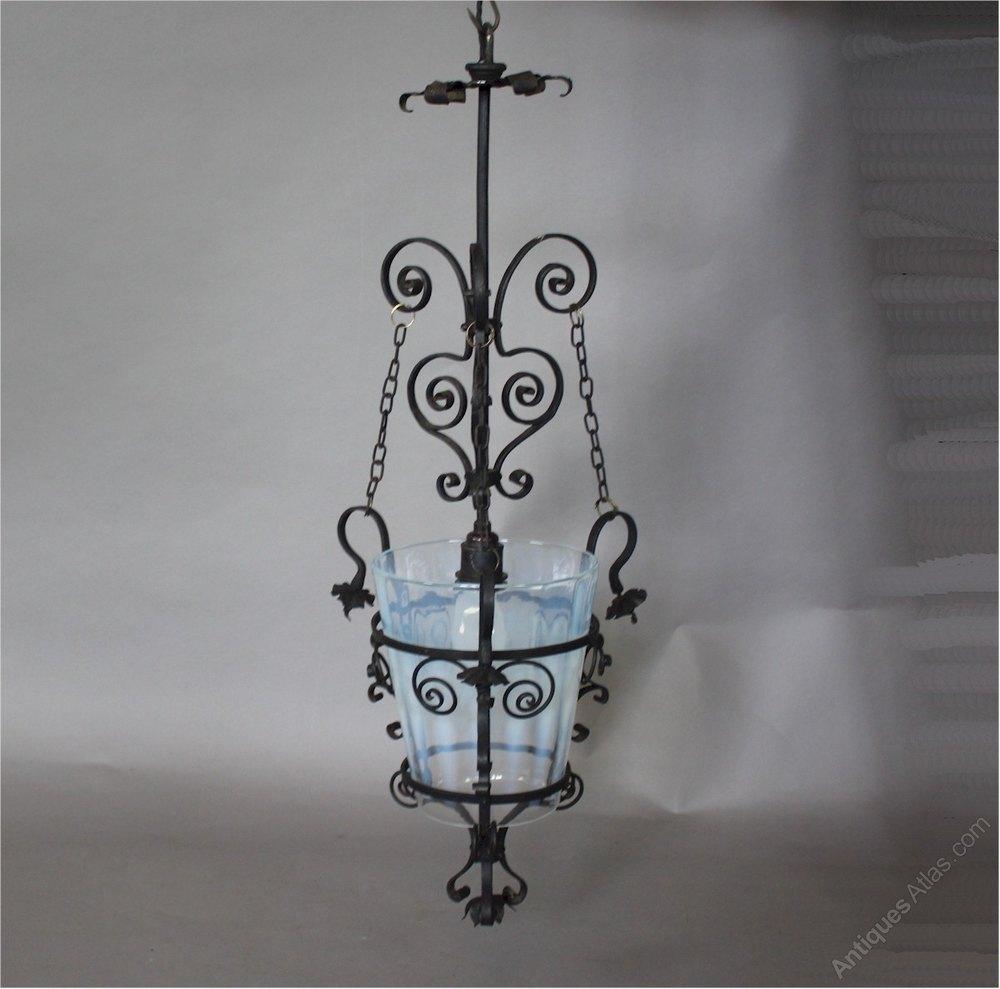 Antiques Atlas Aesthetic Movement Hanging Lantern
