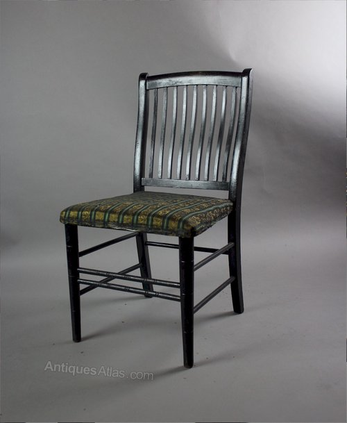Aesthetic Movement Child 39 S Ebonised Chair Antiques Atlas