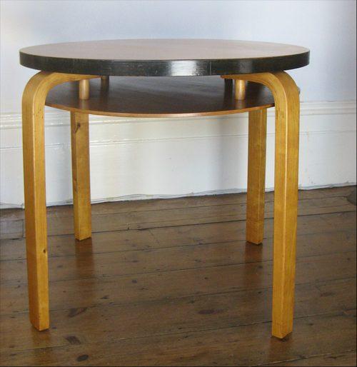 alvar aalto for finmar modernist coffee table antiques atlas. Black Bedroom Furniture Sets. Home Design Ideas