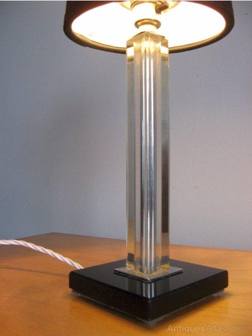 Antiques Atlas Art Deco Table Lamp