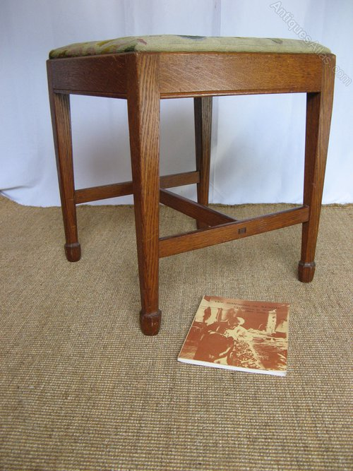 Arthur Simpson Arts And Crafts Stool Antiques Atlas