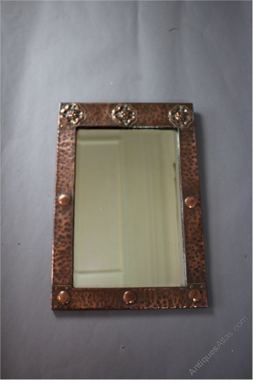 Antiques Atlas Arts And Crafts Copper Framed Wall Mirror