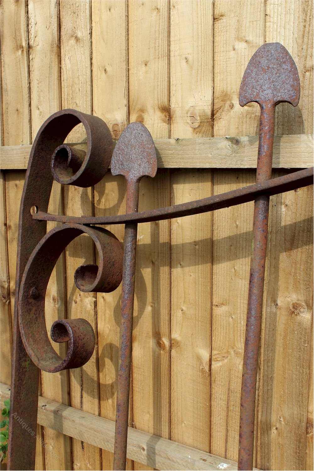 Antiques Atlas Arts And Crafts Large Iron Gate
