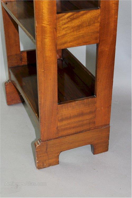 arts and crafts mahogany bookcase antiques atlas. Black Bedroom Furniture Sets. Home Design Ideas