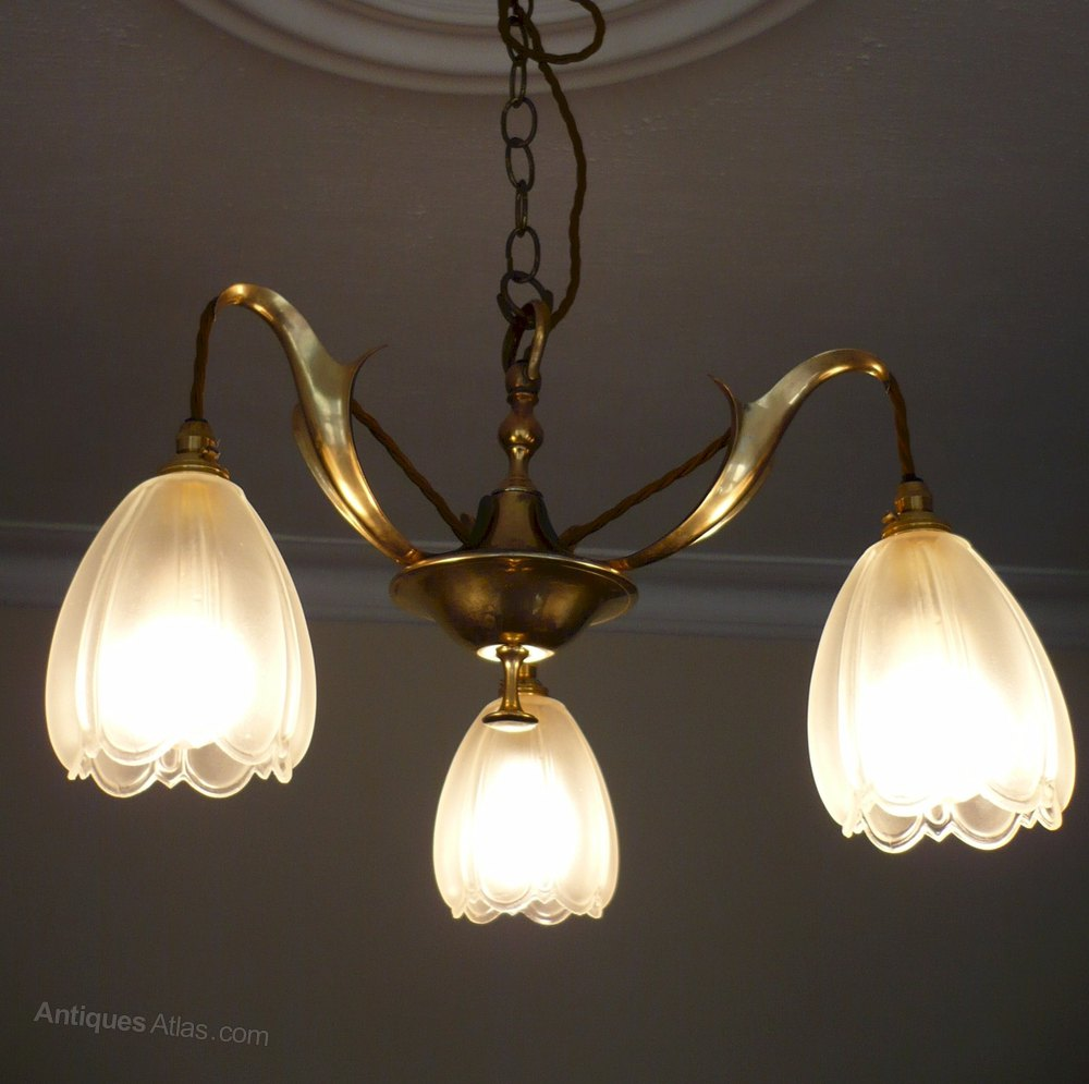 Antiques atlas arts and crafts ceiling light in brass arts and crafts lighting arubaitofo Choice Image