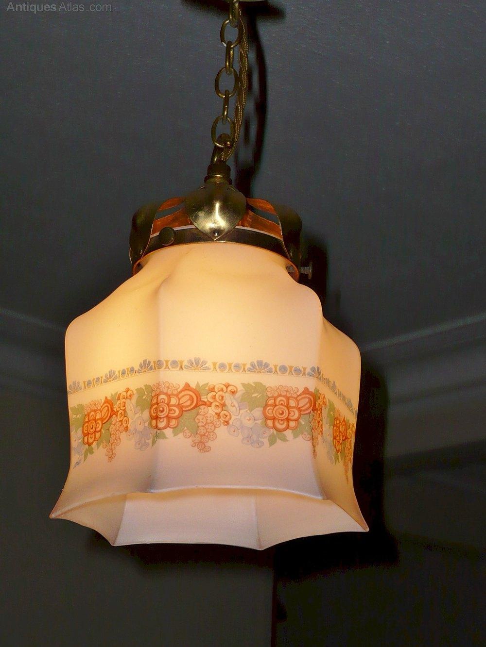 Antiques Atlas Arts And Crafts Pendant Light