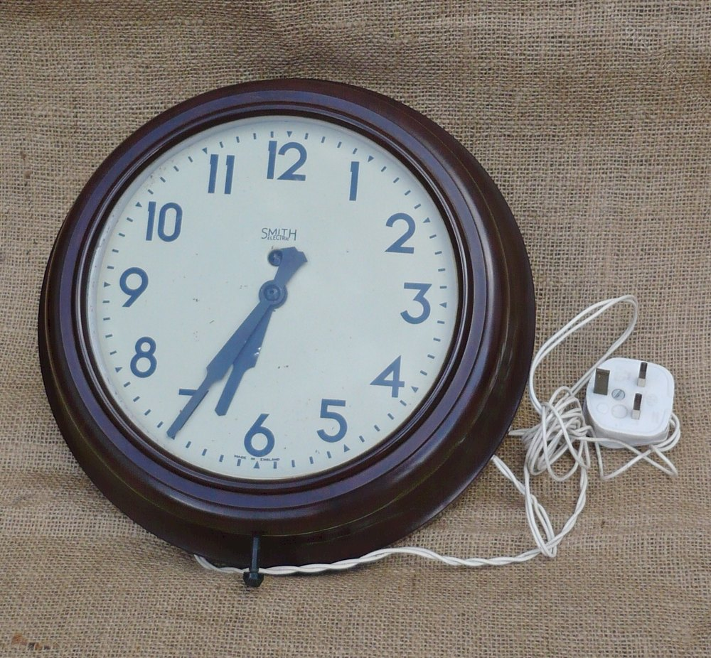 Antiques Atlas Bakelite Wall Clock By Smiths