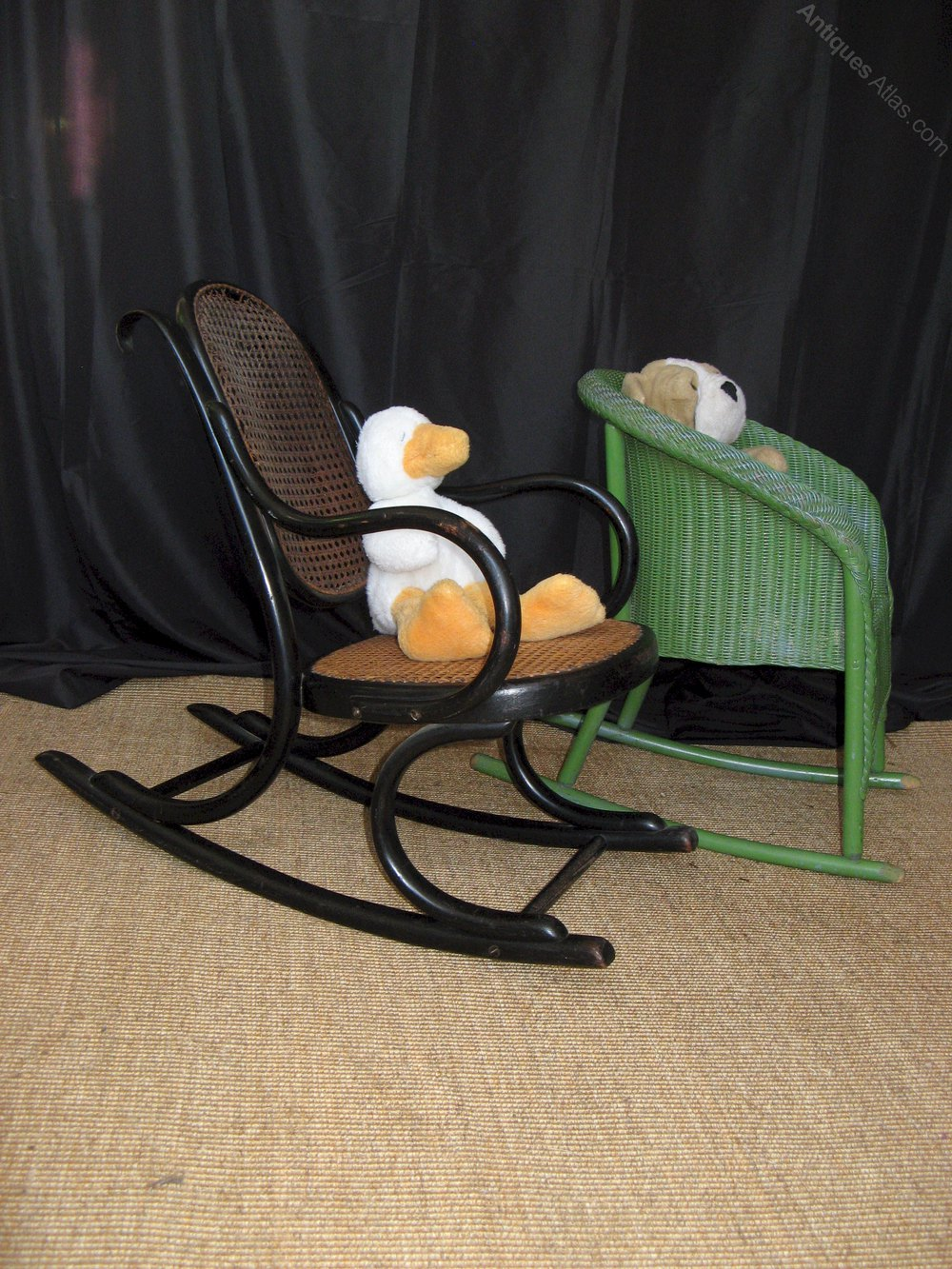 Child Bentwood Rocking Chair Antiques Atlas