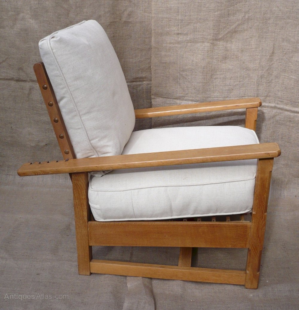 Early Parker Knoll Reclining Armchair - Antiques Atlas