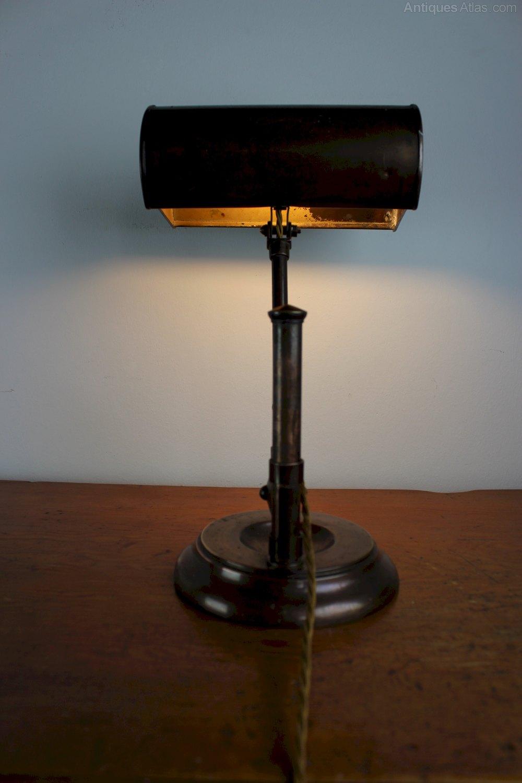 Antiques Atlas Edwardian Adjustable Desk Lamp