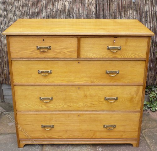 Gillows Of Lancaster Chest In Golden Ash Antiques Atlas