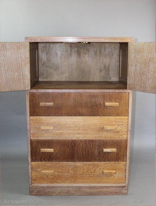 Heals 1930 39 s tallboy with two door cupboard above for 1930s front door furniture