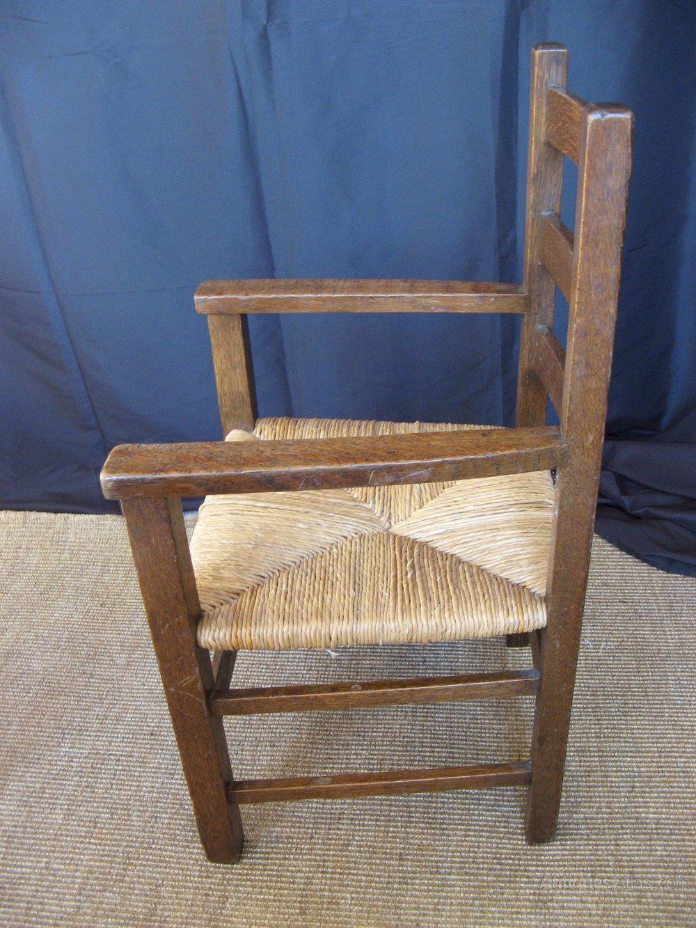 Heals Letchworth Children's Oak Armchair