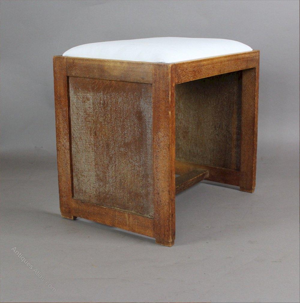 Heals Limed Oak Bedroom Stool From The Russet Range