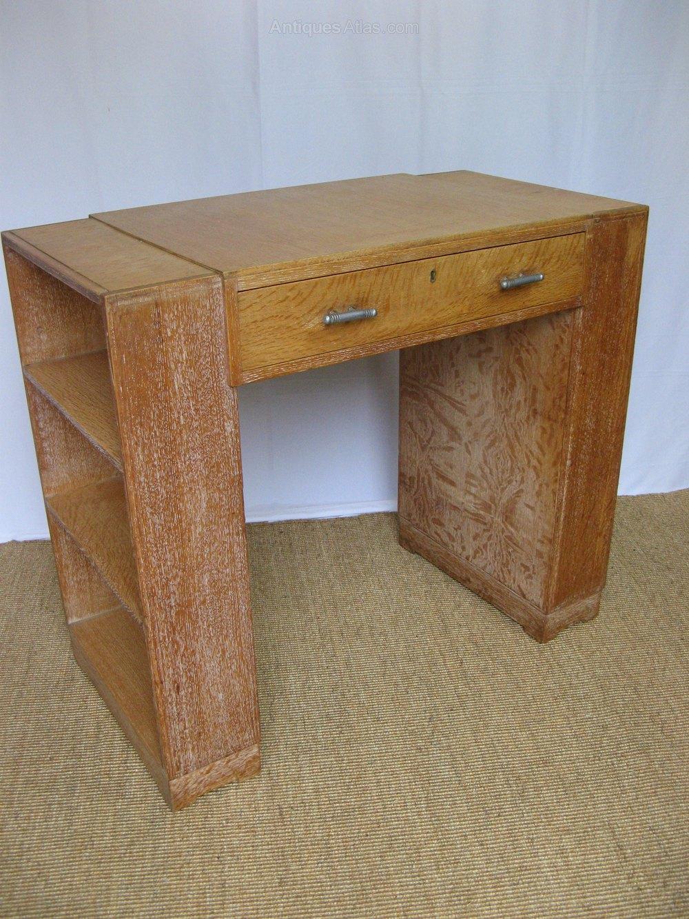 Heals Limed Oak Book Desk