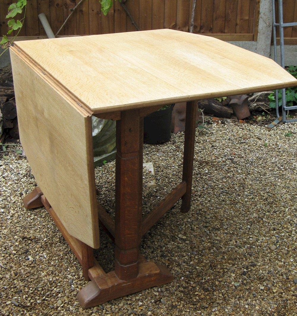 Heals oak gateleg dining table antiques atlas for Gateleg dining table
