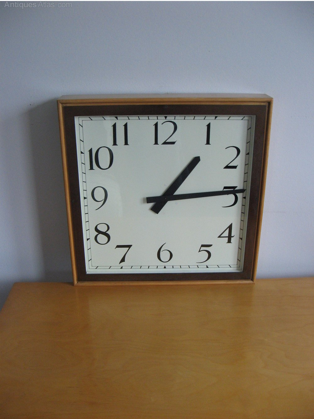 Antiques Atlas Large Art Deco Wall Clock