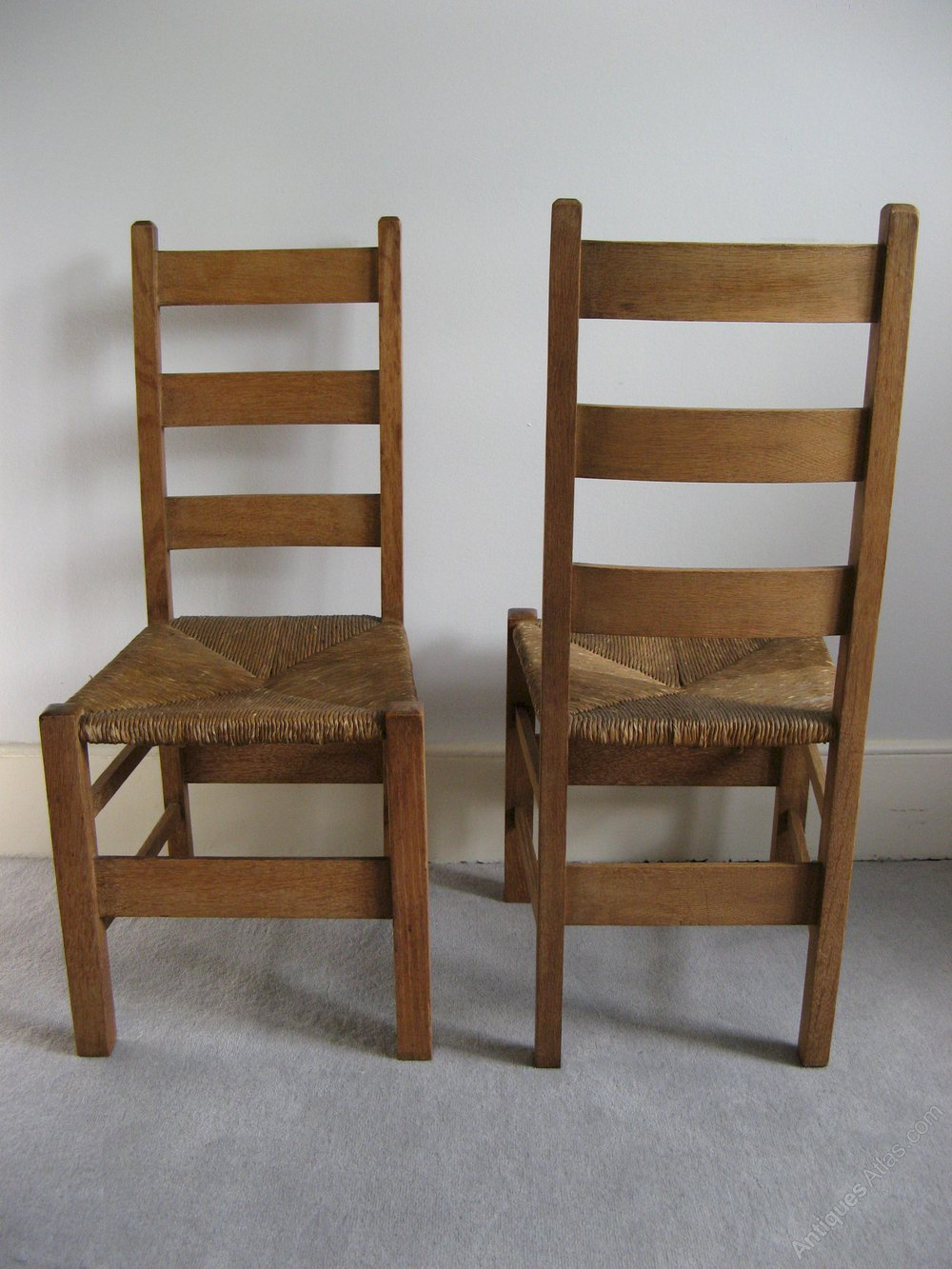 Pair Of Heals Letchworth Bedroom Chairs