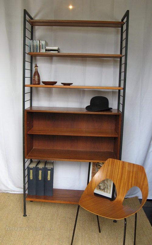 Antiques atlas staples ladderax storage unit 1960 39 s teak shelves - Storage staples corner ...