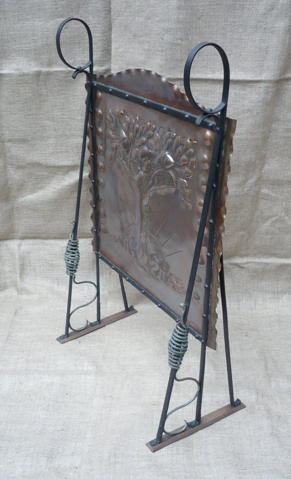 Antiques Atlas Tree Life Arts And Crafts Copper Fire