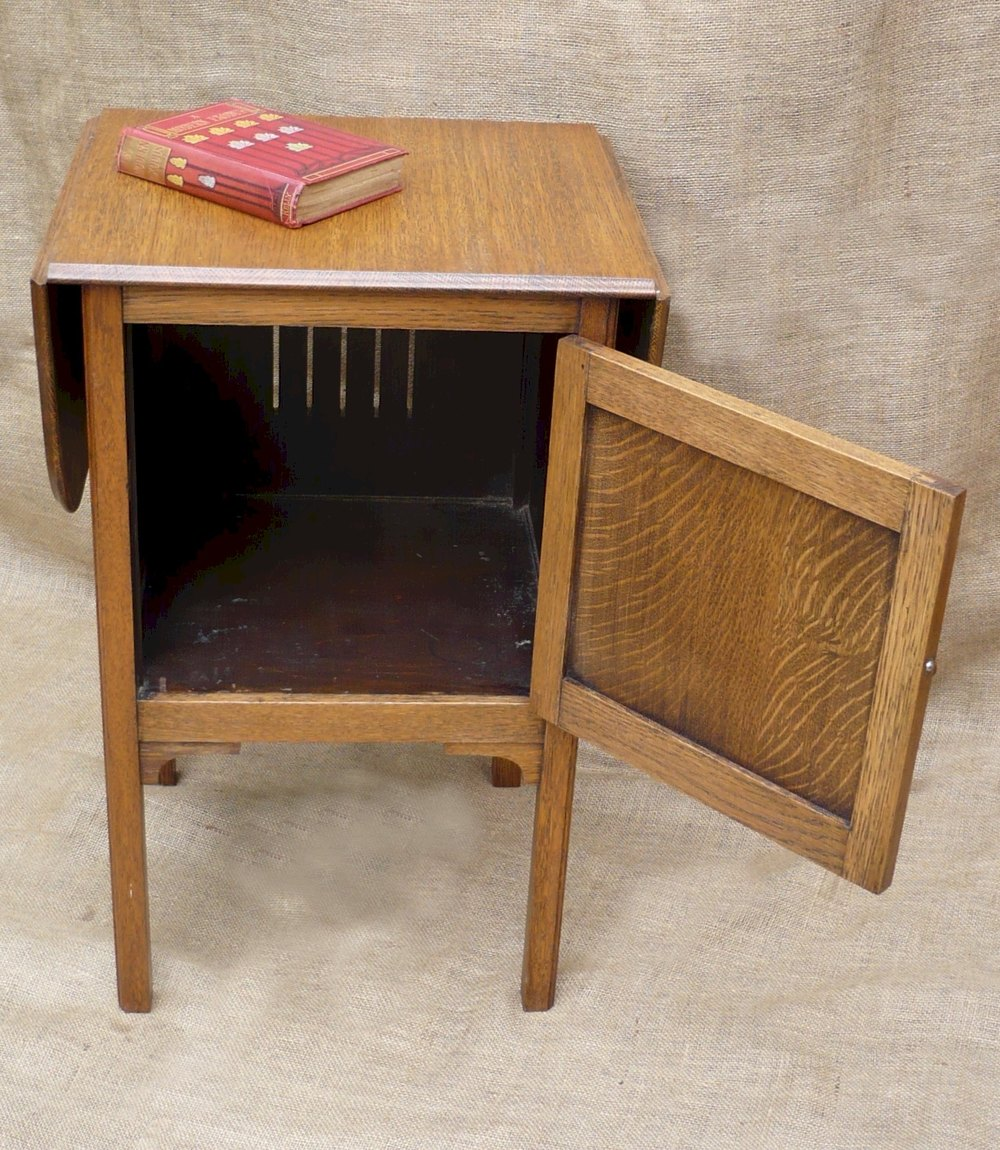 unusual bedside cabinet with extending top antiques atlas